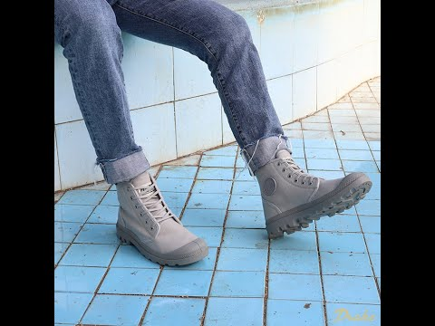 Palladium Pampa Hi Orginale – Grey – 75349-073-M