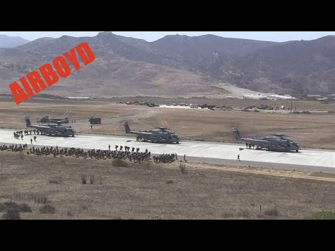 Marine Air Assault Training Camp Pendleton