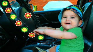 We are in the Car - Kids Song and Story with Dad and Kirill