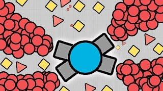 DIEP.IO IMMORTAL SUPER FIRE TANK!! ULTRA POWERFUL TANK! (DIEPIO)