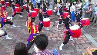 阿波おどり 2017年8月12日 東新町商店街 「年中口説」