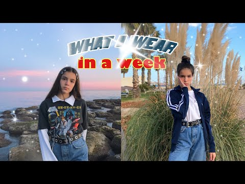 what i wear in a week / vintage lookbook