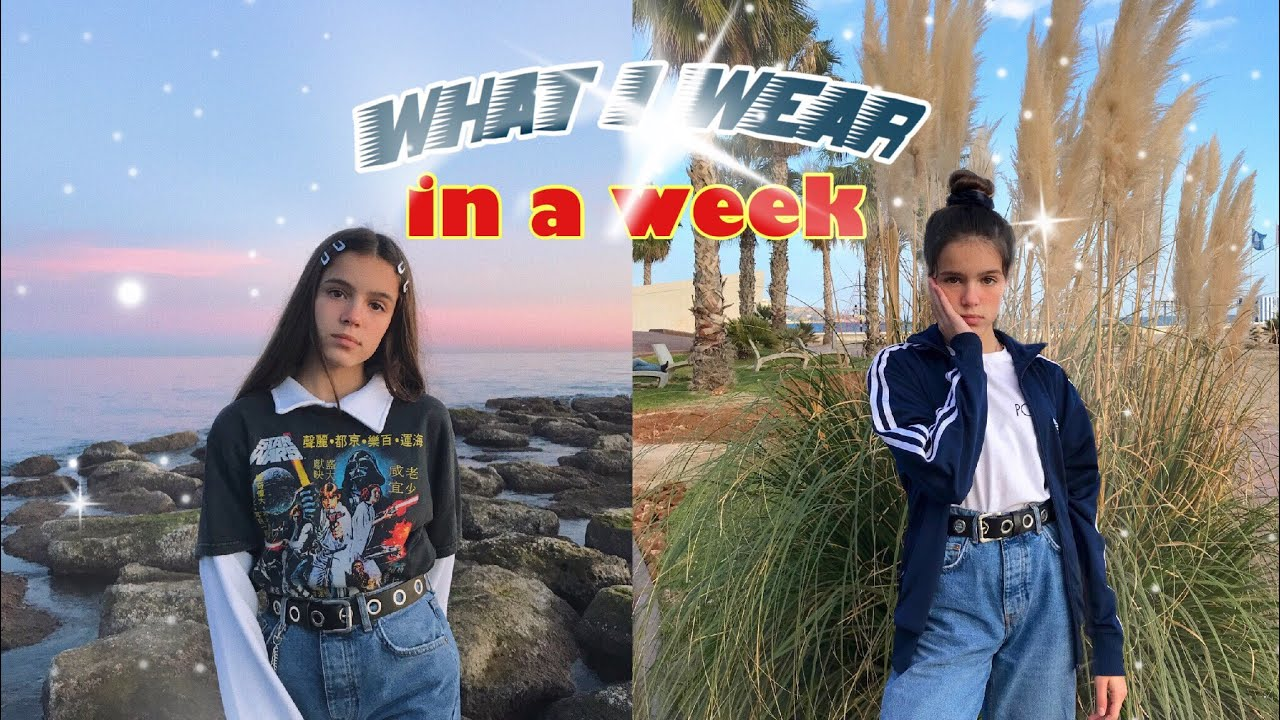 [VIDEO] - what i wear in a week / vintage lookbook 9