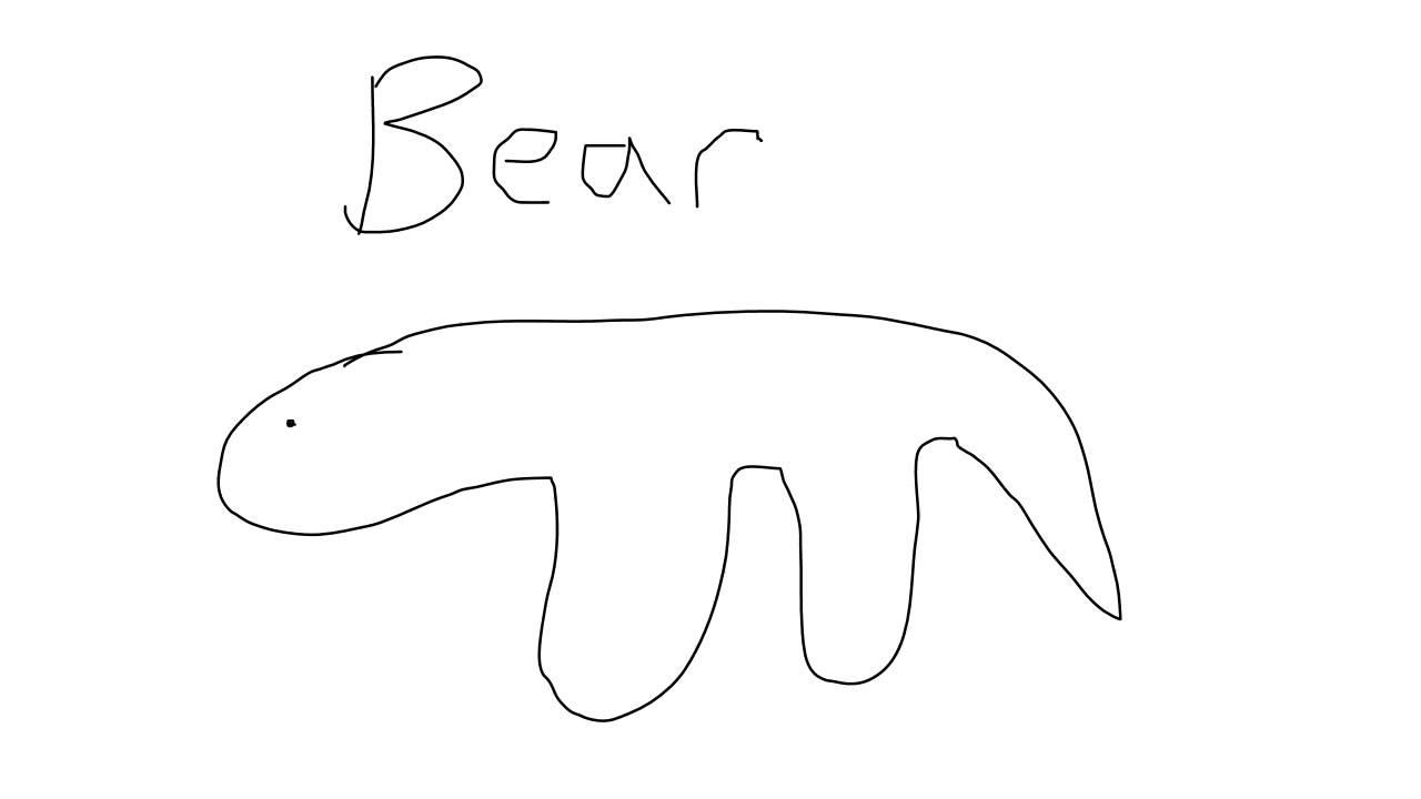 Uncategorized Bear Drawings drawing of bear youtube