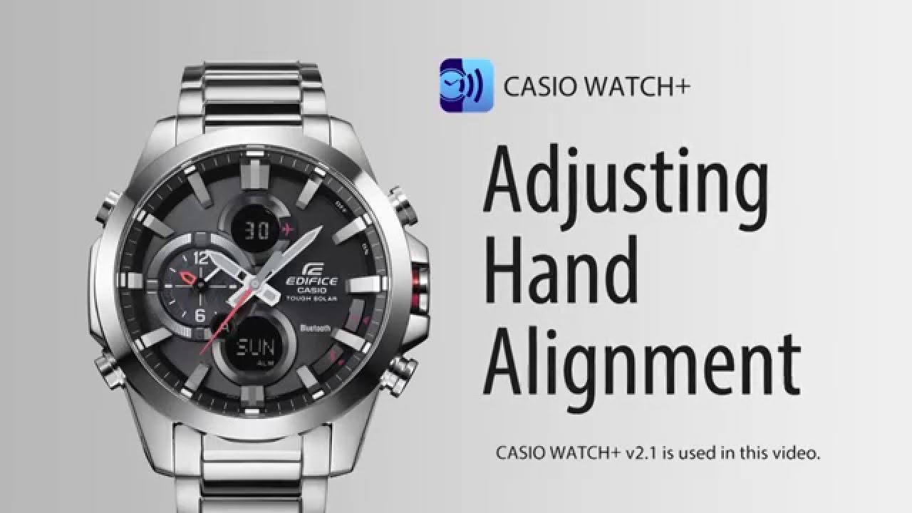 SVETCASU.CZ hodinky Casio Edifice ECB 500 nastavení ručiček - YouTube 4c01b807b85