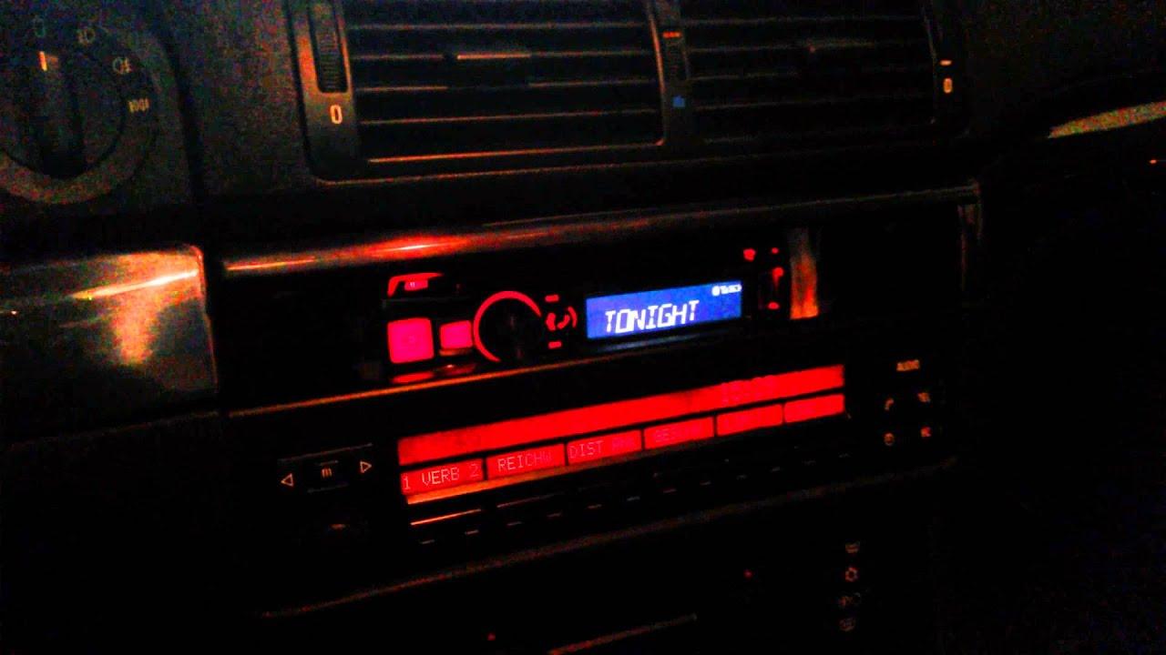 radio alpine cde 183bt w bmw e39