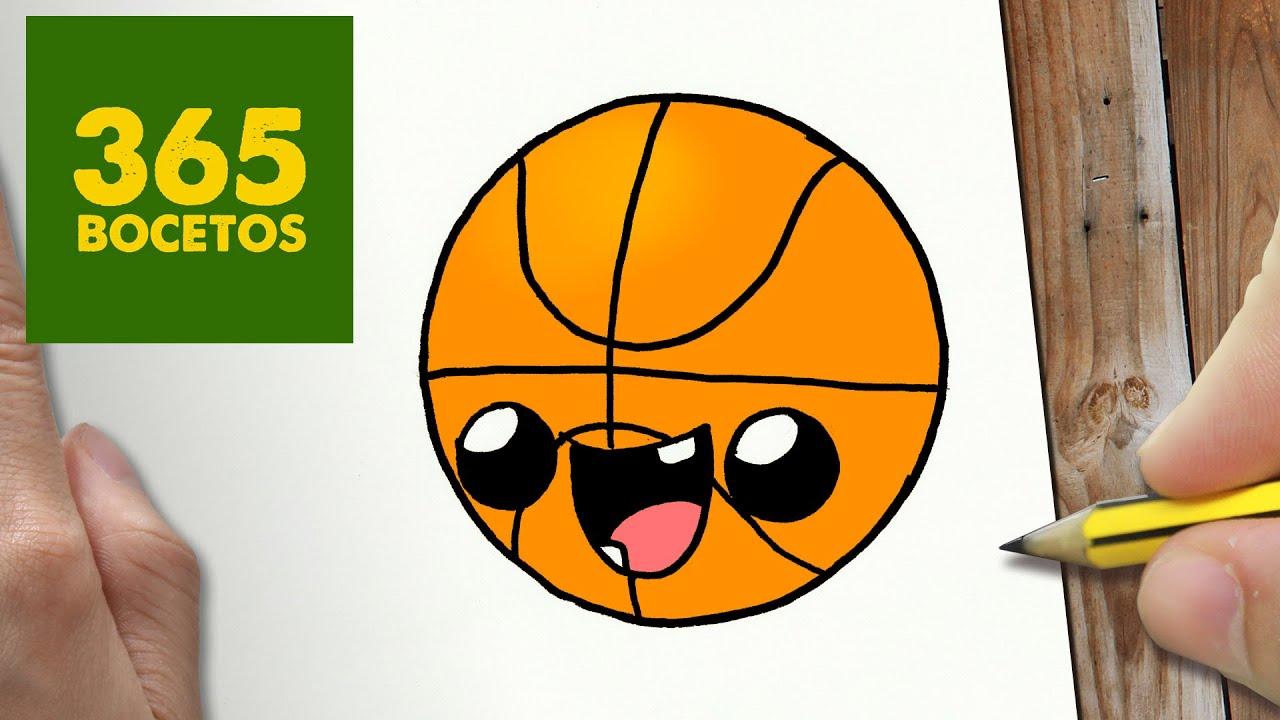 Cómo Dibujar Un Balón De Fútbol Fácil: COMO DIBUJAR PELOTA KAWAII PASO A PASO