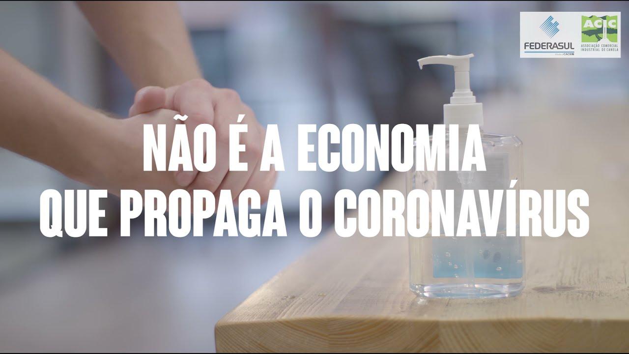 ACIC Canela lança vídeo em parceria com a FEDERASUL