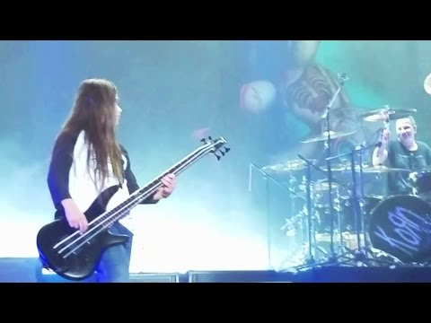 Korn Plays First Show With 12 Year Old Tye Trujillo