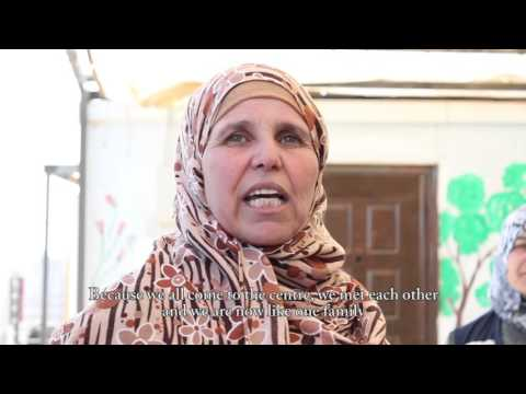 UNFPA supports female Syrian refugees in Zaatari camp, Jordan