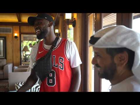 Antonio Rüdiger Visits The Belhasa Farm In Dubai