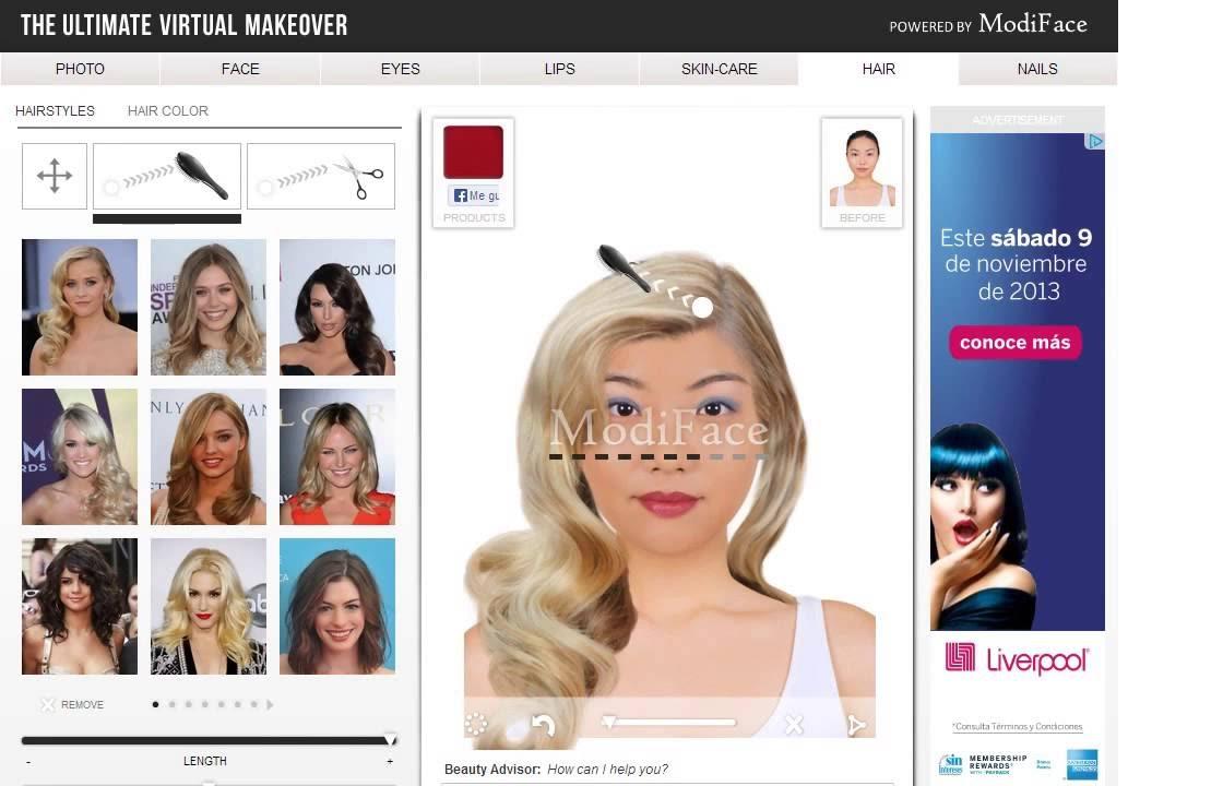 Bonito y sencillo simulador de peinados Imagen de cortes de pelo tutoriales - Simulador De Peinados Hombre Online Gratis   Las Mejores ...
