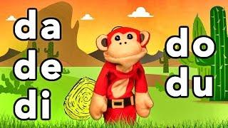 Sílabas Da De Di Do Du   El Mono Sílabo