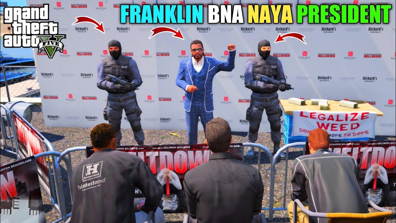 GTA V : FRANKLIN BAN GYA LOS SANTOS KA NAYA PRESIDENT    BB GAMING