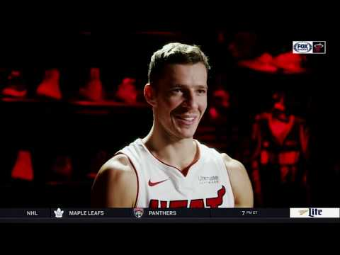 November 22, 2017 - Fox Sports Sun - Miami Heat Goran Dragic: Sneaker Game (Heat Live)