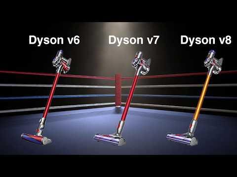 Dyson V8 Vs V7 Vs V6 - Cordless Vacuum Differences Comparison