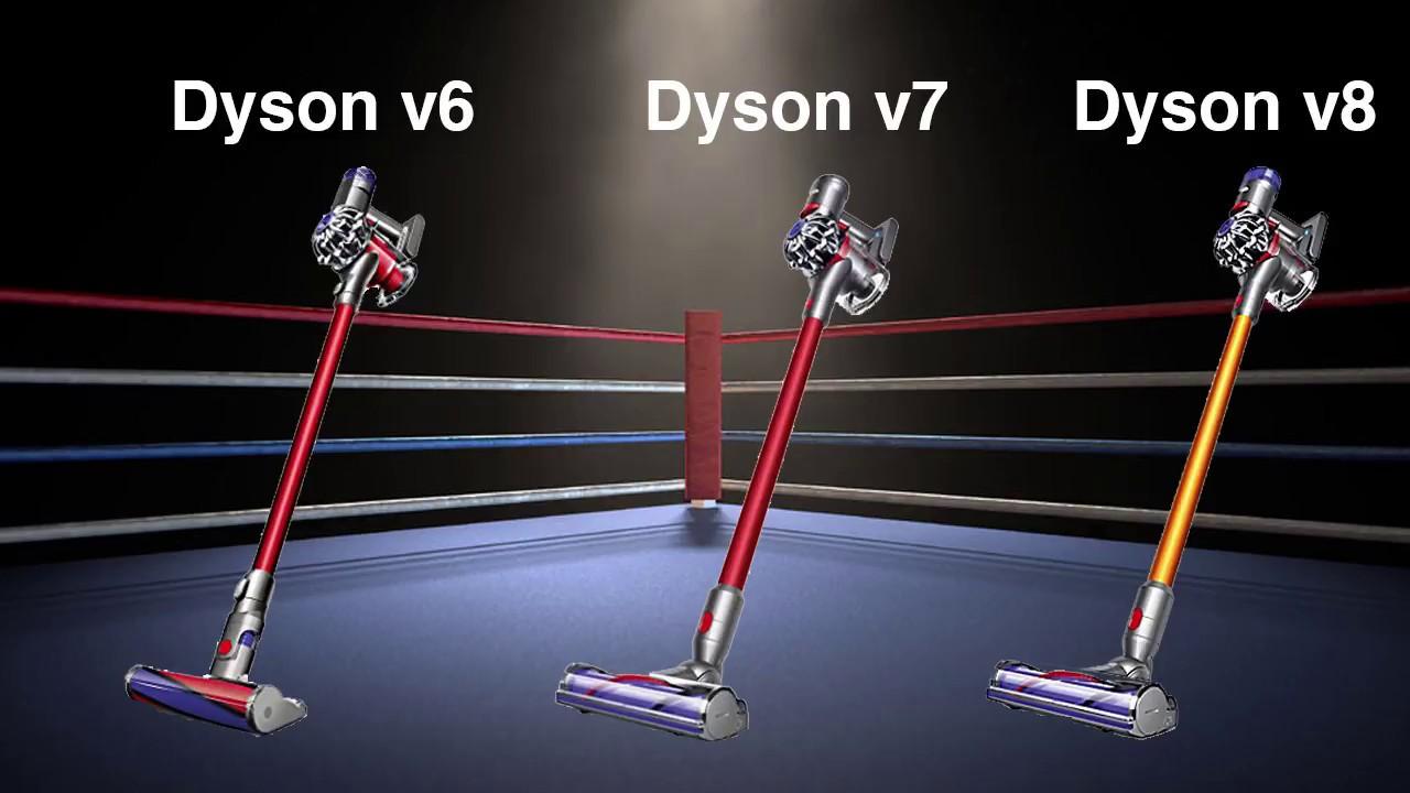 dyson v8 vs v7 vs v6 cordless vacuum differences. Black Bedroom Furniture Sets. Home Design Ideas