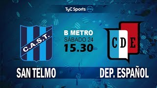 San Telmo vs Dep.Espanol full match