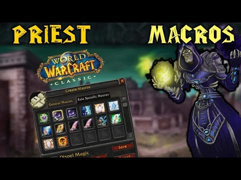 Classic WoW: Macros To Use On Priest