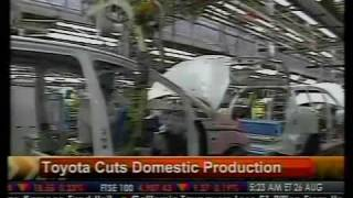 Toyota Cuts Domestic Production - Bloomberg