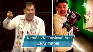 El diputado del PT y el exboxeador utilizaron Twitter como ring para una pelea en la que Arce se declaró victorioso por knockout
