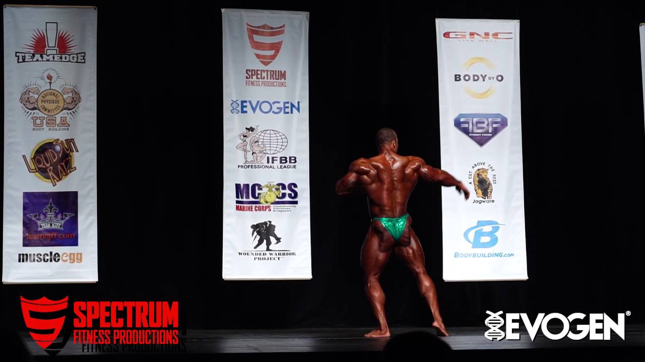 Download Stage Posing: Kevin Jordan IFBB Golden State Pro Posing On Stage:3rd Place