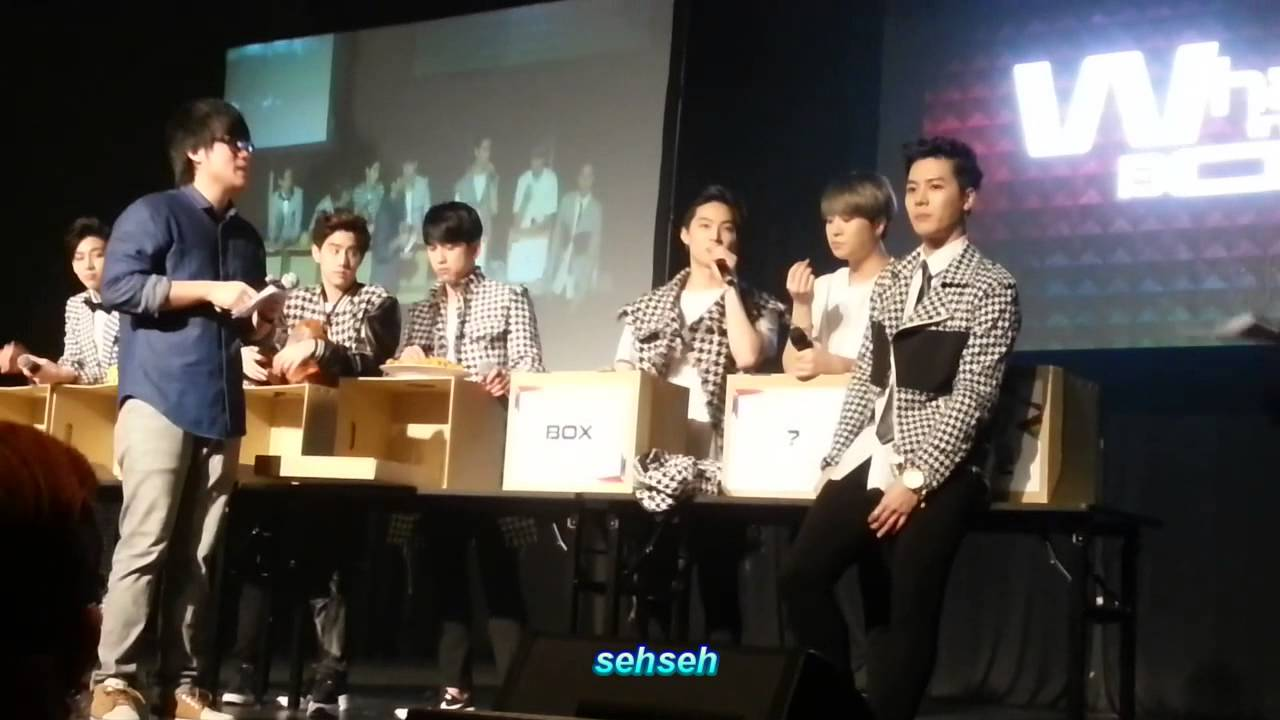 GOT7 in KL: What's in the box? (Game segment) - YouTube