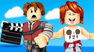Roblox-FILM ACTORS ft CHRISTOPHER MINEGIRL (Make Movies Obby)