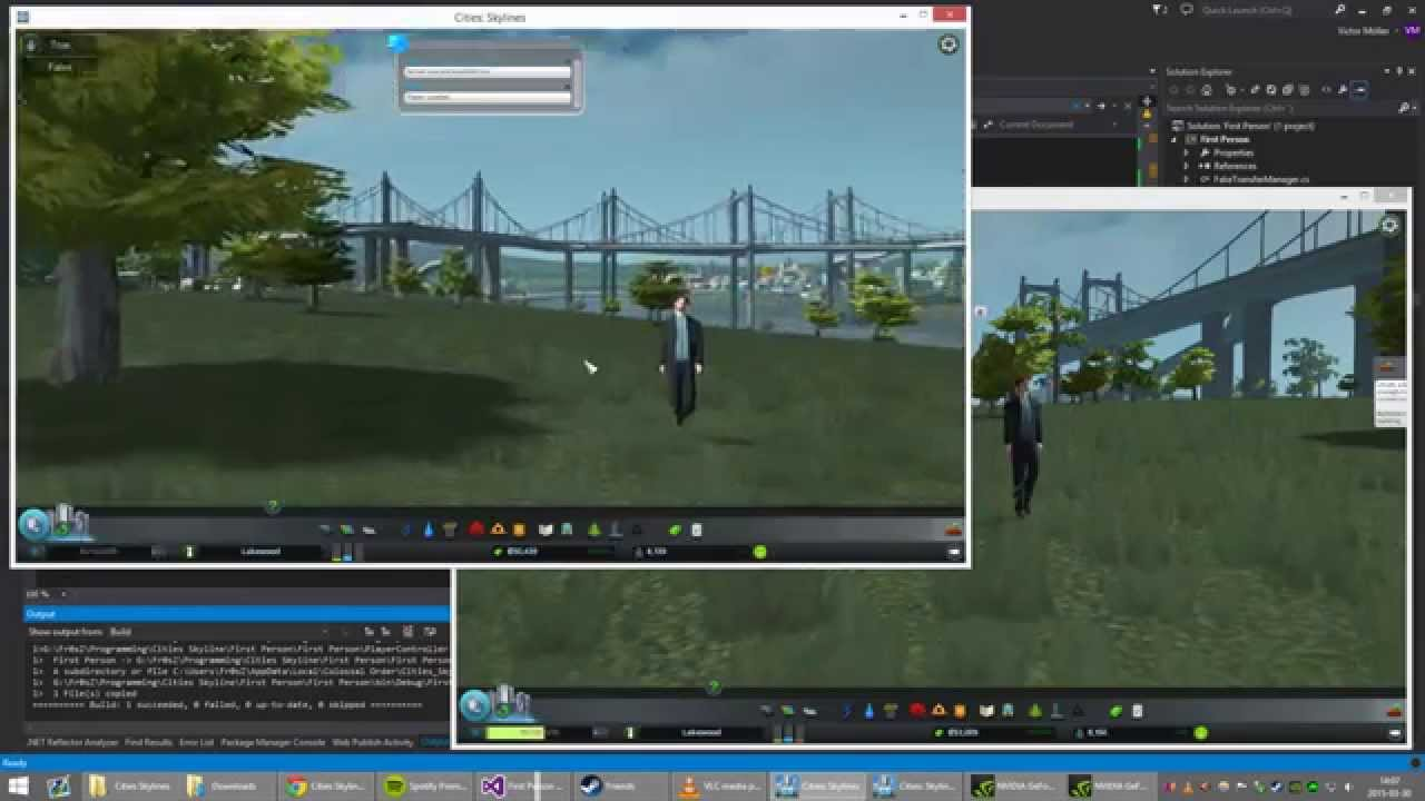 Cities: Skylines mod adds first-person multiplayer | PC Gamer