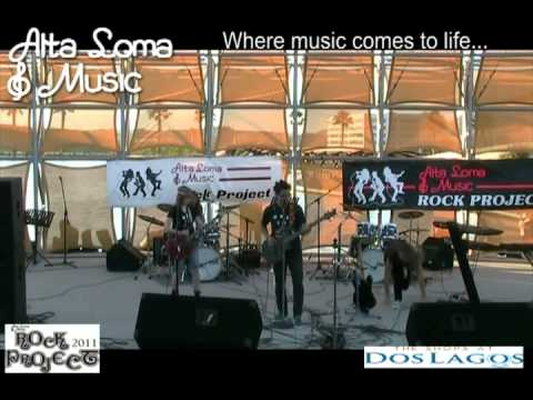 """Drum Lessons Corona CA - Alta Loma Music Rock Project 2011 - """"What the Fish!"""""""