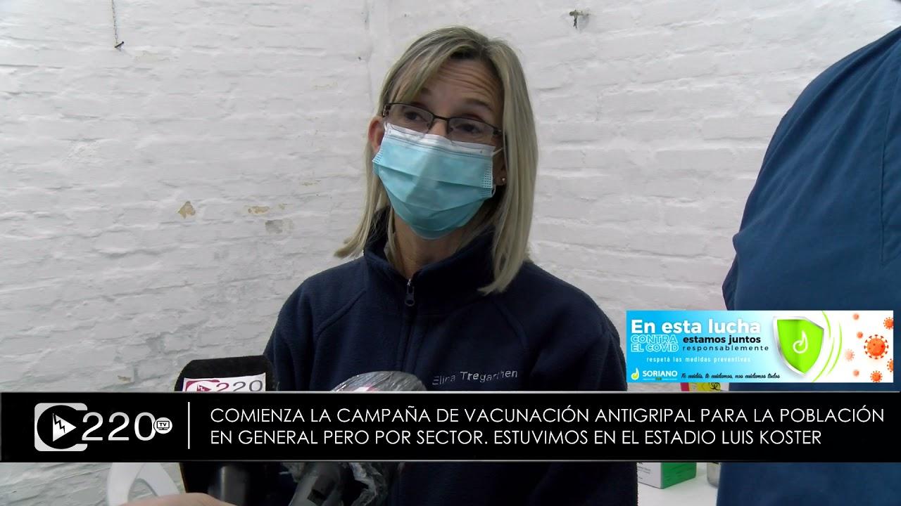 Se intensifica la vacunación antigripal a partir del lunes 3 de mayo