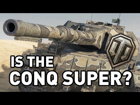 Is the Conqueror Super in World of Tanks?