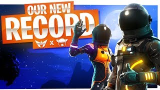 We got our NEW RECORD! - Fortnite Duos WIN w/ I AM WILDCAT