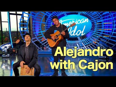 american-idol---alejandro-with-cajon---just-for-fun
