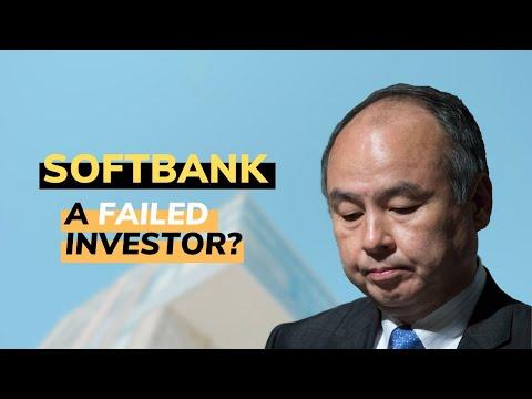 Has Softbank Failed because of Wework?