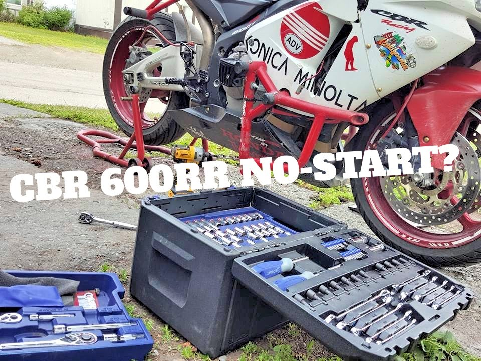 Honda Cbr 600rr No Start Trouble Shooting