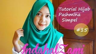Tutorial Hijab Pashmina Simple (Pashmina Diamond Italiano #15 - indahalzami