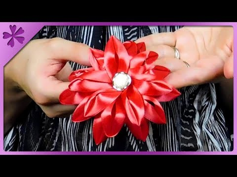Apprehensive Lovely Pair Of Handmade Baby/toddler/girls Hair Bobbles Kanzashi Kids' Clothing, Shoes & Accs Girls' Accessories