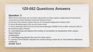 1Z0-082 Oracle Database Administration I Exam Dumps