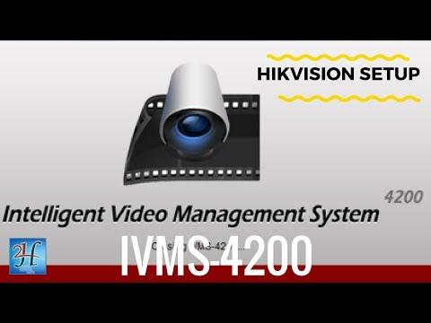 #HikVision #IVMS-4200 OverView | برنامج ادارة اجهزة هيكفيجن