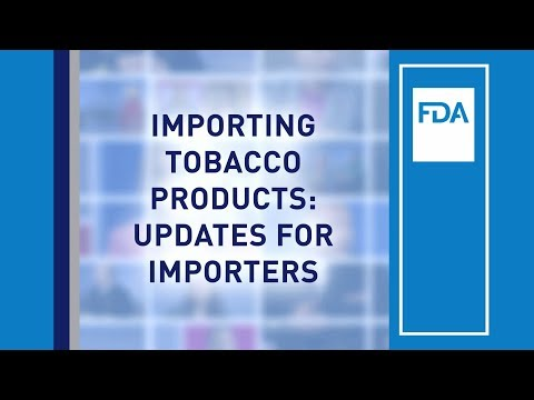 Importing and Exporting | FDA