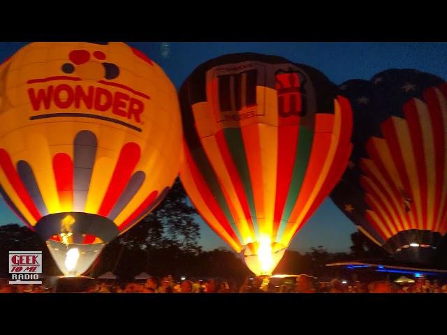 Marcus Theatres' Balloon at The Great Forest Park Balloon Race 2021-Balloon Glow