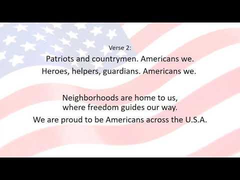 Americans, We