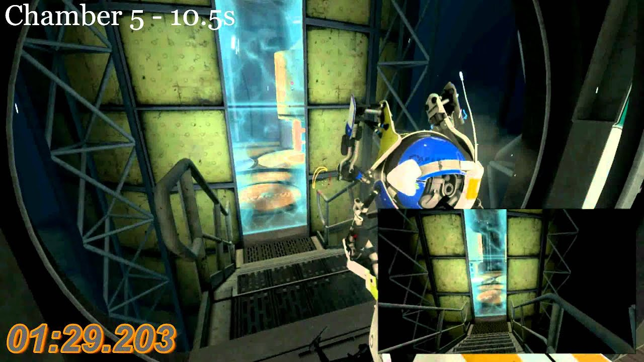 portal 2 co op course 4 speed run 3 11 pre dlc youtube. Black Bedroom Furniture Sets. Home Design Ideas