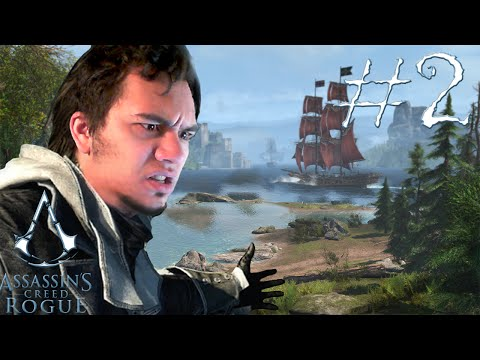 #2 ГрЕбём лохань и топчем зайчат в  Assassin's Creed Rogue - Прохождение Assassin's Creed Rogue