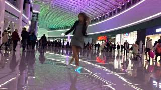 Танцуем Shuffle в ТРЦ | #Olya Peleshok