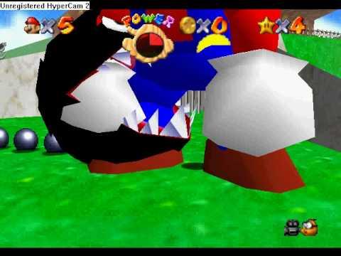 Super Mario 64 hack Super 1up Mushroom