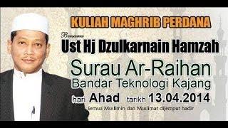 Ustaz Zulkarnain Hamzah Surau Ar-Raihan_130414