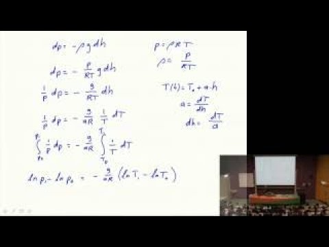 1 02 Introduction to Aerospace Engineering I 2 The standard Atmosphere