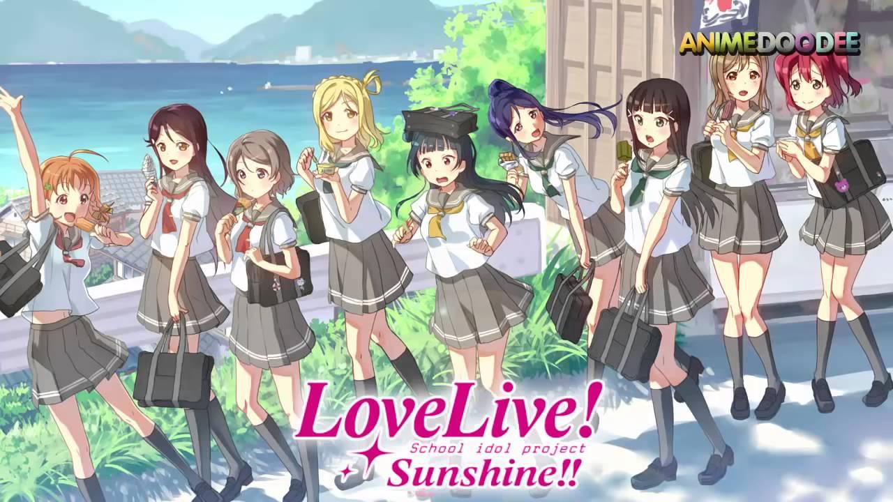 lovelive sunshine episode 1 13 youtube